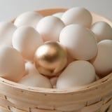 jajeczny złoty Fotografia Royalty Free
