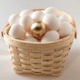 jajeczny złoty Zdjęcie Royalty Free