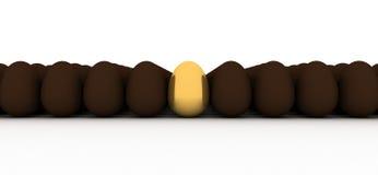 jajeczny złoty Obraz Stock
