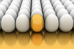 jajeczny złoty Zdjęcia Stock