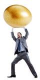 jajeczny złoty mężczyzna Zdjęcia Stock
