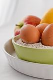 jajek mąki owoc zdjęcie royalty free