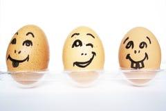 jajka śmieszni Obraz Stock