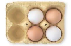 jajka cztery Obrazy Stock