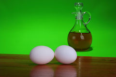 jajka dwa Obrazy Royalty Free
