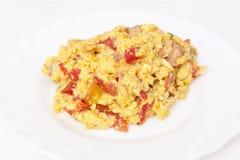 jajka gramolący się Zdjęcie Royalty Free