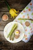 Wielkanocni breakfas zdjęcie stock