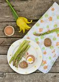 Wielkanocni breakfas fotografia stock
