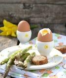 Wielkanocni breakfas Obraz Royalty Free