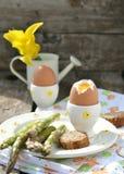 Wielkanocni breakfas Zdjęcie Royalty Free