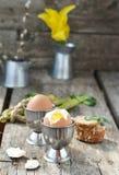 Wielkanocni breakfas Zdjęcia Stock