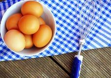 jajka organicznie świeży Zdjęcie Royalty Free