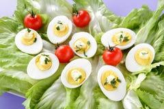 jajka sałatkowi Zdjęcie Stock