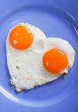 jajka smażący Obrazy Royalty Free
