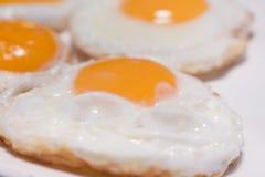jajka smażący Zdjęcie Royalty Free