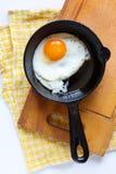 jajka smażyli Zdjęcia Stock