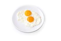jajka smażyli Zdjęcie Stock