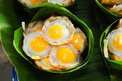 jajka smażyli Fotografia Royalty Free