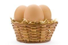 jajka trzy Obrazy Royalty Free