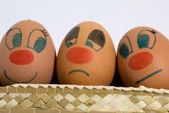 jajka trzy Obraz Stock