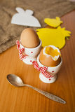 Jajka w kokotach Obraz Stock