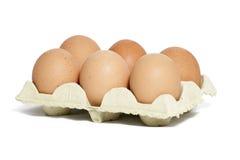Jajka w pakunku obrazy royalty free