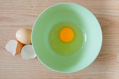 Jajka w pucharze Obrazy Royalty Free