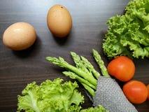 Jajka & warzywa Zdjęcie Royalty Free