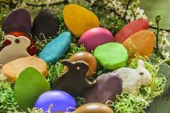 Jajka wpólnie i ciastka Obraz Stock
