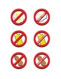 Jajko Bezpłatnego glutenu Bezpłatny arachid Uwalnia ilustracji