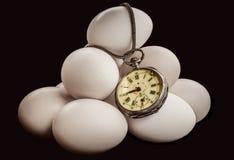 Jajko czas Obrazy Royalty Free