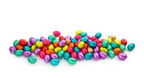 jajko czekoladowa folia Obraz Stock