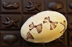 Jajko i czekolada Obraz Royalty Free