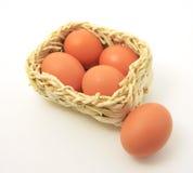 jajko koszykowy kwadrat Obrazy Stock