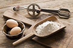 jajko mąka Fotografia Stock
