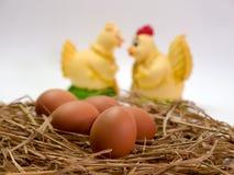 Jajko na białym tle zdjęcia stock