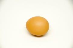 Jajko na białym tle Obrazy Royalty Free