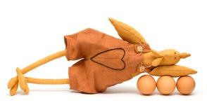 jajko odizolowywał kogut zabawkę Obrazy Royalty Free