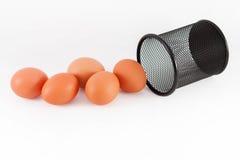 Jajko odizolowywa Obrazy Stock