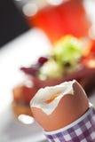 jajko otwarty Zdjęcia Stock