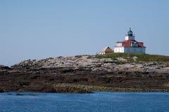 Jajko Rockowa latarnia morska Zdjęcie Royalty Free