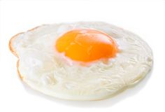 jajko smażący Obraz Stock