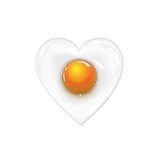 jajko smażący Zdjęcie Royalty Free