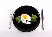 jajko smażący Zdjęcie Stock