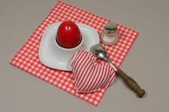 Jajko w eggcup Fotografia Royalty Free