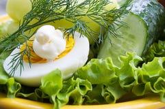 jajko zielenieje majonez fotografia stock