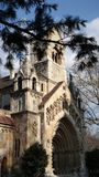 The Jak Chapel. Of the Vajdahunyad castle in Budapest, Hungary Royalty Free Stock Photography