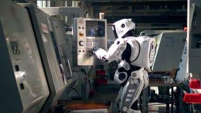 Jak cyborg jest przez konsoli regulacyjny wyposażenie zbiory