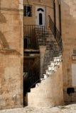 jak działa pokręcony schody Zdjęcia Royalty Free