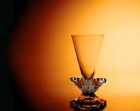 Jak motyl równie światło Obrazy Stock
